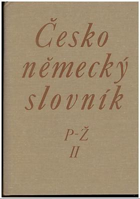 Siebenschein Hugo a kolektiv – Český - německý slovník (2 svazky)