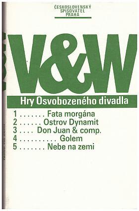 Voskovec Jiří Werich Jan – Hry Osvobozeného divadla Voskovec Jiří, Werich Jan