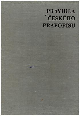 Pravidla českého pravopisu Academie věd