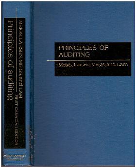 Walter B. Meigs, E. John Larsen – Principles of auditing