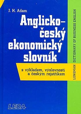 J. H. Adam – Anglicko-český ekonomický slovník