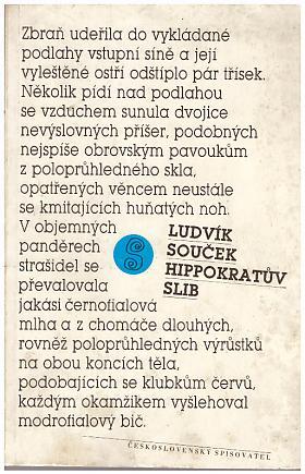 Ludvík Souček – Hippokratův slib