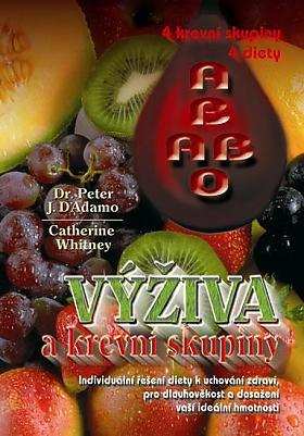Peter James D. D'Adamo – Kuchařka: Výživa a 4 krevní skupiny. Kuchařka a diety pro vaše ideální zdraví, váhu a pohodu