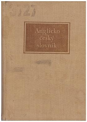 J. Caha J. Krámský – Anglicko-český slovník