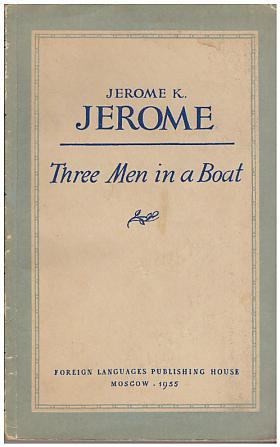 Klapka Jerome Jerome – Three men in a boat (to say nothing of the dog)