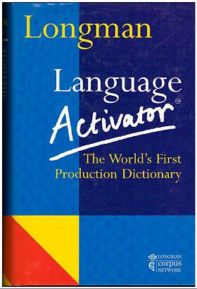 Addison Wesley Longman – Language Activator: World's First Production Dictionary