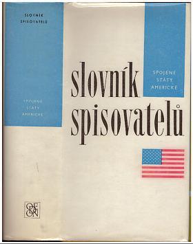 Zdeněk Vančura, Eva Masnerová – Slovník spisovatelů Spojené státy americké