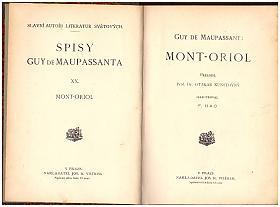 Guy de Maupassant – Mont-Oriol