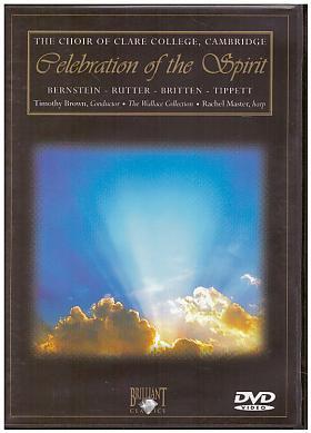 The Choir Of Clare College Cambridge – The Choir Of Clare College, Cambridge: Celebration Of The Spirit [DVD] [2002]