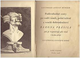 Gottfried August Bürger – Podivuhodné cesty barona Prášila