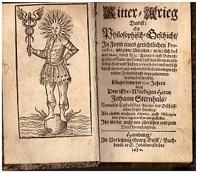 Johann Sternhals – Ritter-Krieg. Das ist: Ein Philosophisch - Geschicht