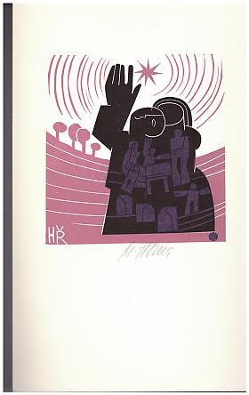 Miroslav Houra – Vztahy - Soubor exlibris - Linoryty